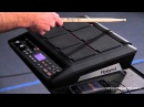 Roland SPD-SX Sampling Pad Overview and Demo |