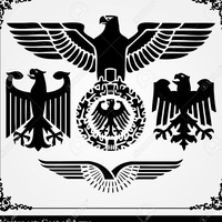Roman eagle vector