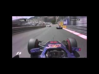 Сайнс чудом избежал аварии с Эрикссоном на Гран-при Монако