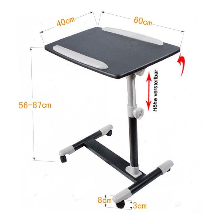 Mesa para cama con ruedas sharemedoc - Mesa para ordenador portatil ...