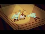Три богатыря. Ход конем - Буду бить аккуратно, но сильно (песни из мультфильмов)
