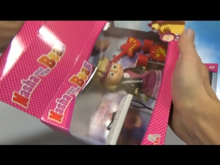 Маша и Медведь игрушки и яйца с игрушками распаковка Masha and the Bear surprise toys unboxing