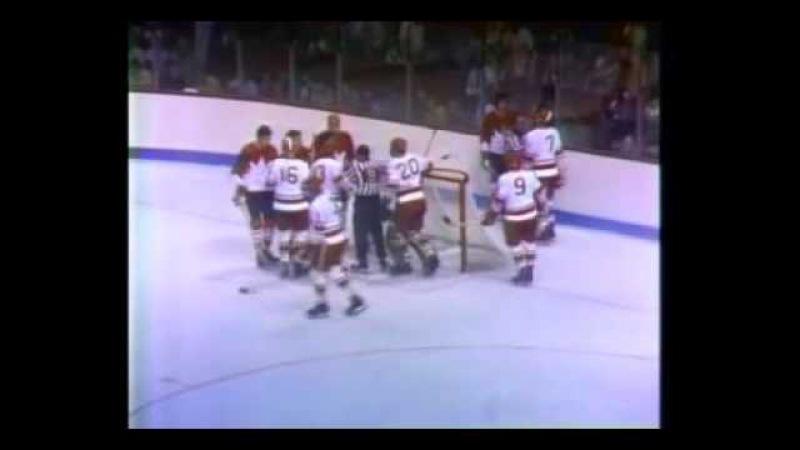 СССР Канада 1972 г 1 я игра суперсерии Монтаж матча из лучших моментов