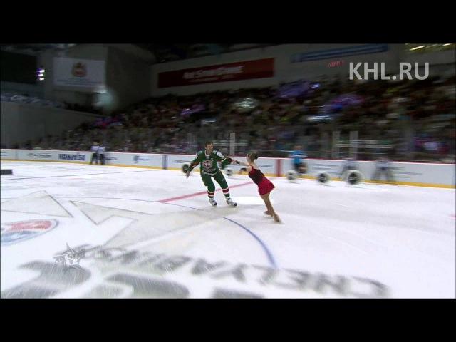 KHL All Star Конкурс капитанов Captains contest