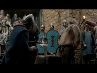 Прикольно подставил: казнь сериал Викинги / Vikings funny execution scene HD