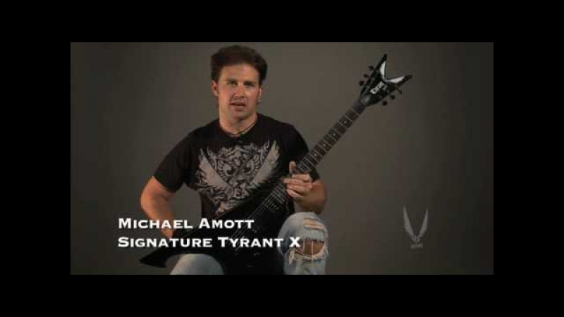 Dean Guitars MICHAEL AMOTT SIGNATURE TYRANT X