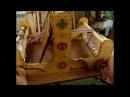 Заправка основы на ручной ткацкий станок Ярина 1