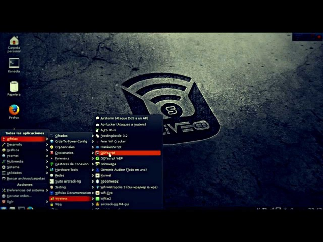 Como hackear redes wifi WPA2/WPS con WIFISLAX 4.8? Metodo 2 Goyscript