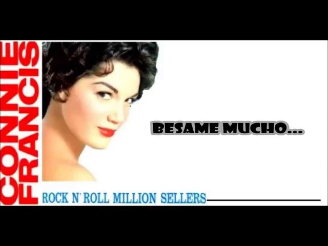 Connie Francis Bésame Mucho With Lyrics HD