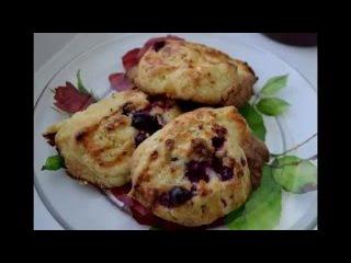 Рецепт приготовления вкусного творожного печенья-булочек.