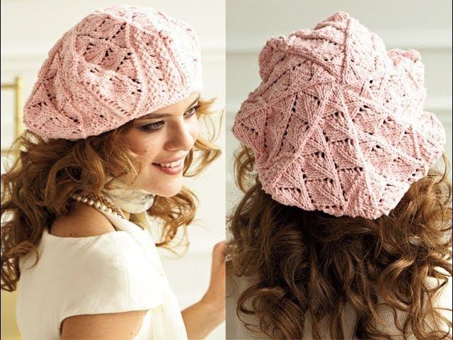 11 Eyelet Beret, Vogue Knitting Spring/Summer 2012