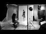 е6Herman V.Brandt Photography bts fashion photoshoot with model Godeliv\\ге