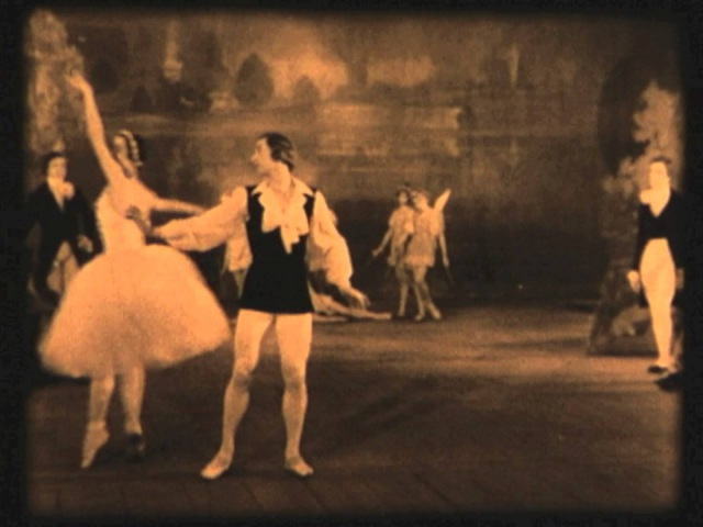 The Ballet of the Paris Opera Featuring Serge Lifar (c. 1940) Rare Official Films with Amber Tone
