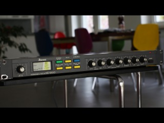 RARE EFFECT PROCESSOR: Ibanez HD 1000 - [direct high quality sound]