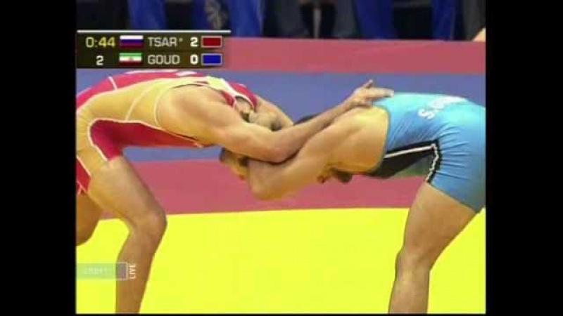 74 кг. Гударзи vs Царгуш, Чемпионат мира-2010, финал