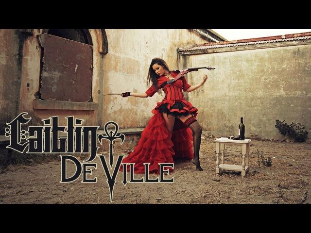 My Dark Valentine - Rock Metal Violin Covers Medley   Caitlin De Ville