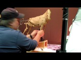 Sculpture Tutorial - New Beginnings - Short day on the Horse