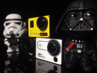 Экшен камера Amkov 7000s 4K 2.7K Wi-Fi FullHD 60fps 720p 120fps action camera AMK7000S