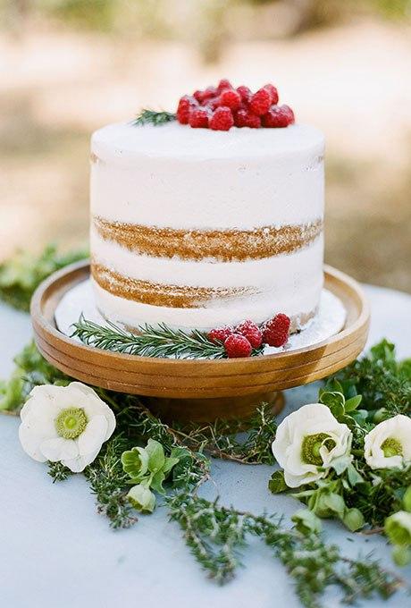 ifQ6FZ3lmYE - 36 Красивейших одноуровневых свадебных тортов