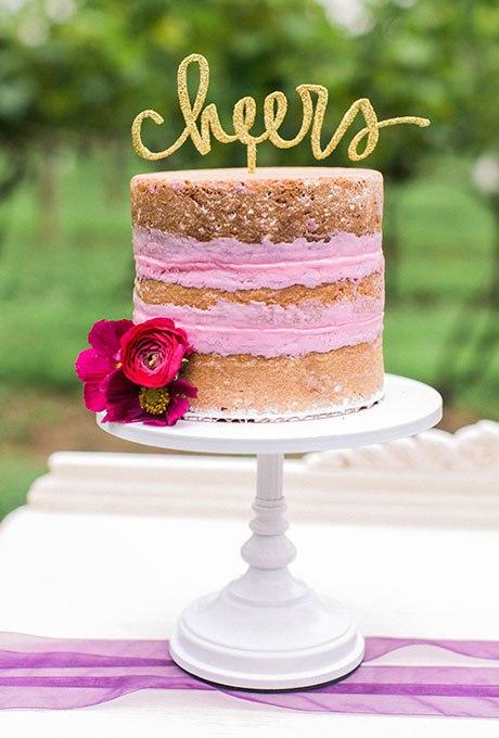 kVHGiQqrdmk - 36 Красивейших одноуровневых свадебных тортов