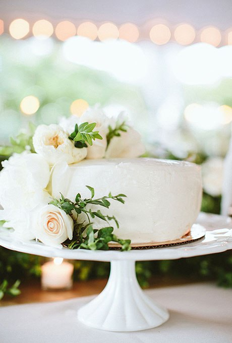 LY6VY3ocPTo - 36 Красивейших одноуровневых свадебных тортов