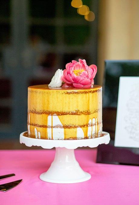 HsmzGS6pGD0 - 36 Красивейших одноуровневых свадебных тортов