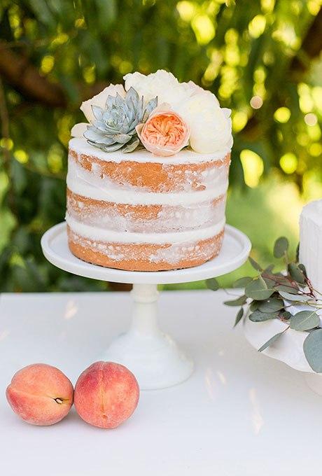 016y6AzsEuI - 36 Красивейших одноуровневых свадебных тортов