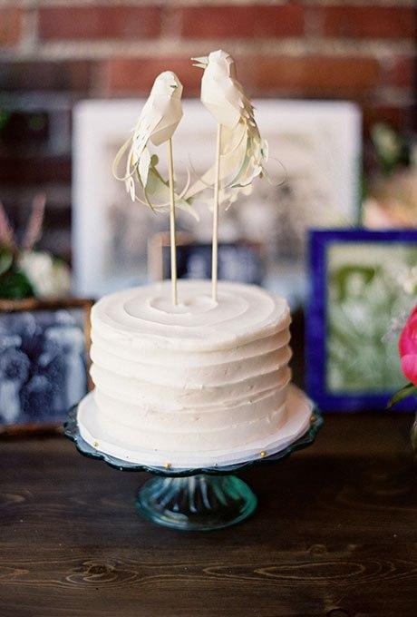 dzvW1182Sio - 36 Красивейших одноуровневых свадебных тортов