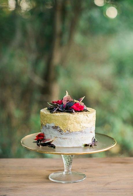 JI73ndOXNjk - 36 Красивейших одноуровневых свадебных тортов