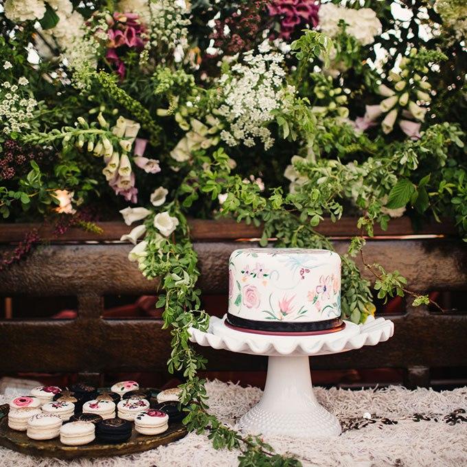 34s Miv PPI - 36 Красивейших одноуровневых свадебных тортов