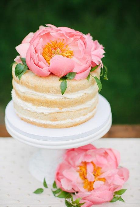 YjO0g0 k8pI - 36 Красивейших одноуровневых свадебных тортов