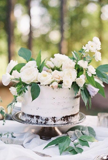 jzo3IOYRNng - 36 Красивейших одноуровневых свадебных тортов