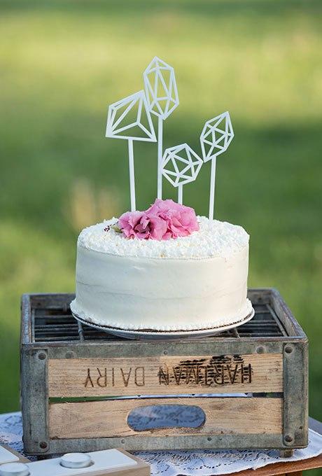 srlJ9WLBHw8 - 36 Красивейших одноуровневых свадебных тортов