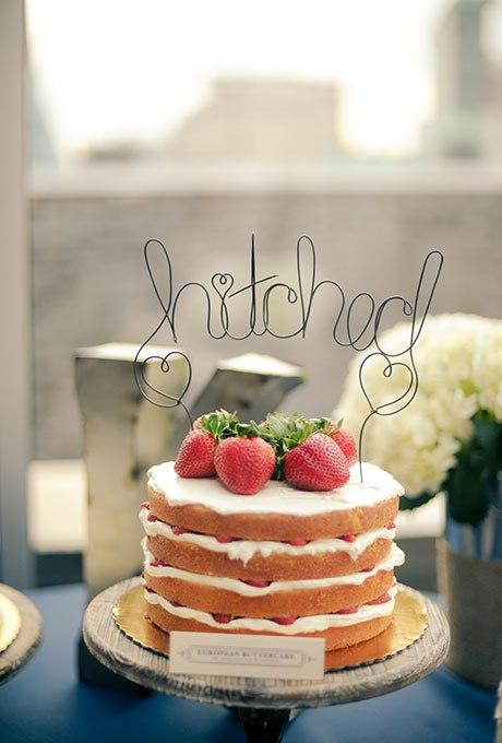h4HKjckPWa8 - 36 Красивейших одноуровневых свадебных тортов