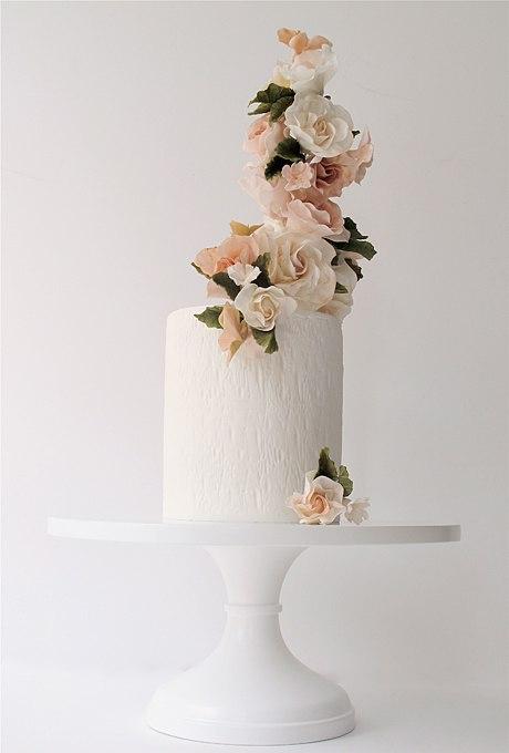 6fAZMSPyk3g - 36 Красивейших одноуровневых свадебных тортов