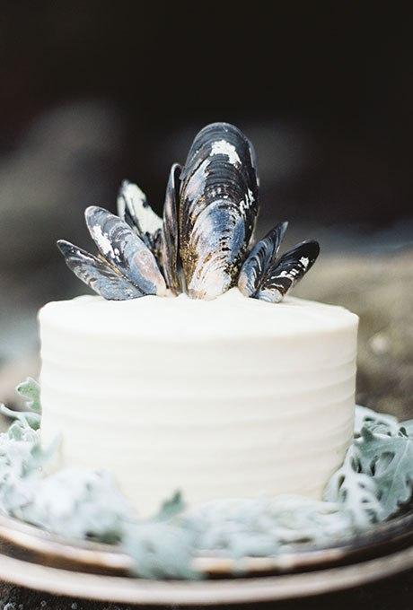 UPqr4FBXEu8 - 36 Красивейших одноуровневых свадебных тортов
