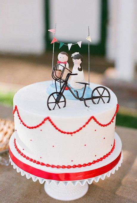 a9UmanGCyMQ - 36 Красивейших одноуровневых свадебных тортов
