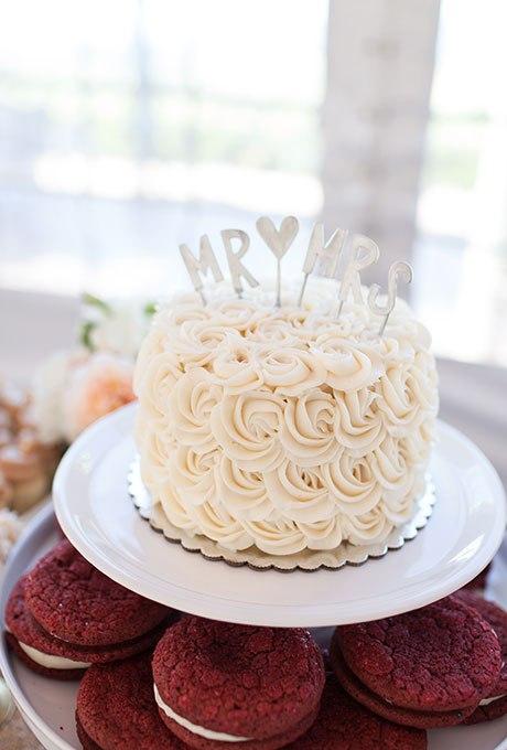 gFzE4sysUSU - 36 Красивейших одноуровневых свадебных тортов