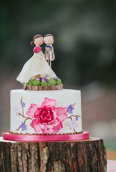 Z9uGA6vBT5k - 36 Красивейших одноуровневых свадебных тортов
