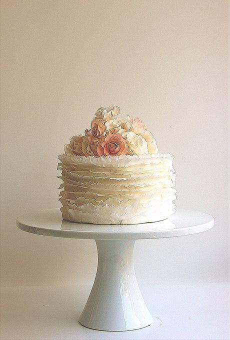 GwlnZndSClc - 36 Красивейших одноуровневых свадебных тортов