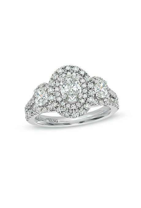 d00ezXoPvdQ - Обручальные кольца с тремя камнями (63 фото)