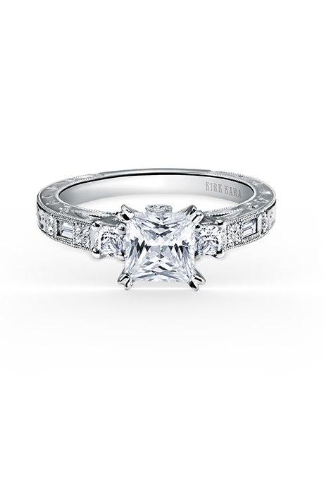 yt9jxlUoX1g - Обручальные кольца с тремя камнями (63 фото)