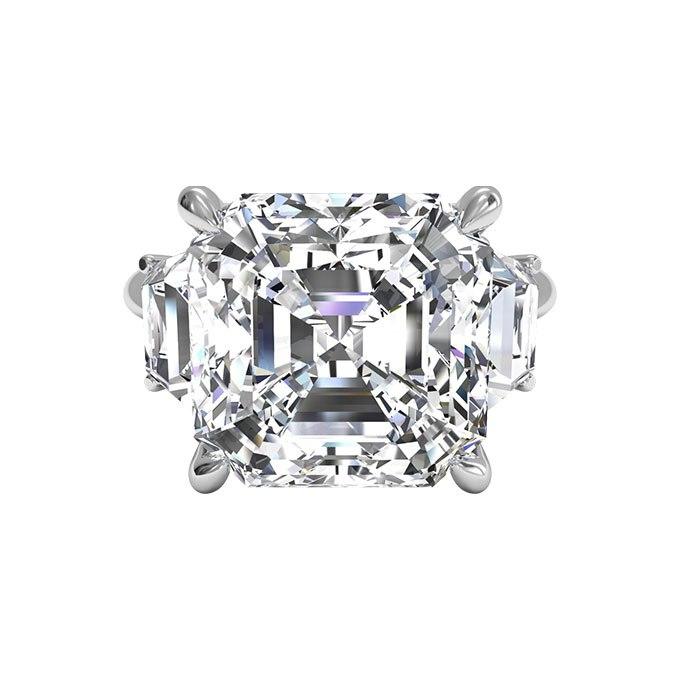 I4B4XJvK bk - Обручальные кольца с тремя камнями (63 фото)