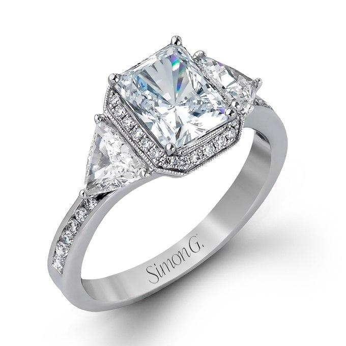 ksJLS1YCwq4 - Обручальные кольца с тремя камнями (63 фото)