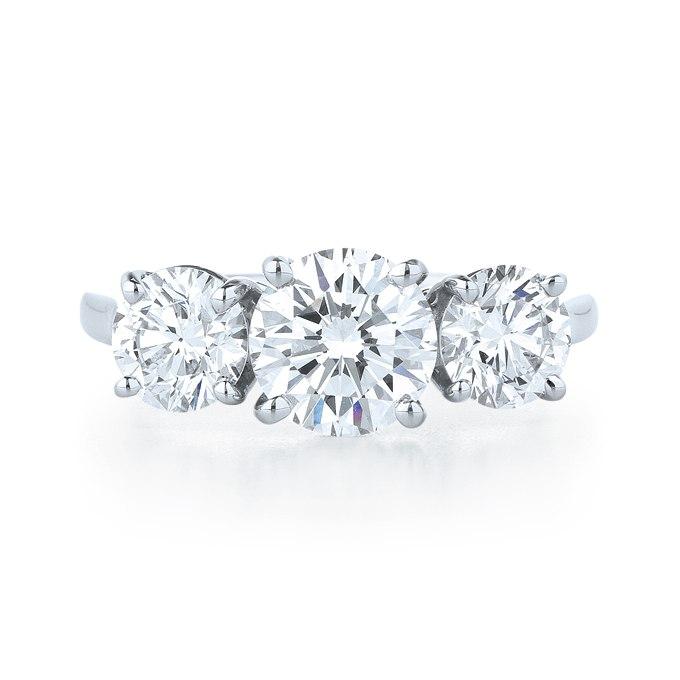 zhTeqwRWSIQ - Обручальные кольца с тремя камнями (63 фото)