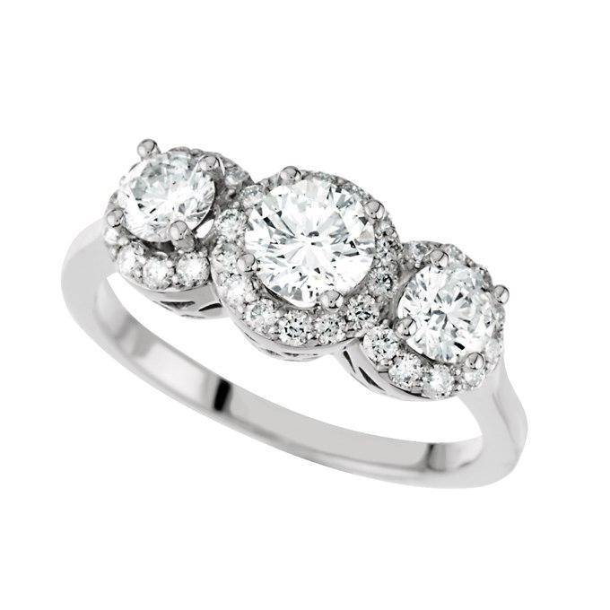 KKbpUQOCaBg - Обручальные кольца с тремя камнями (63 фото)