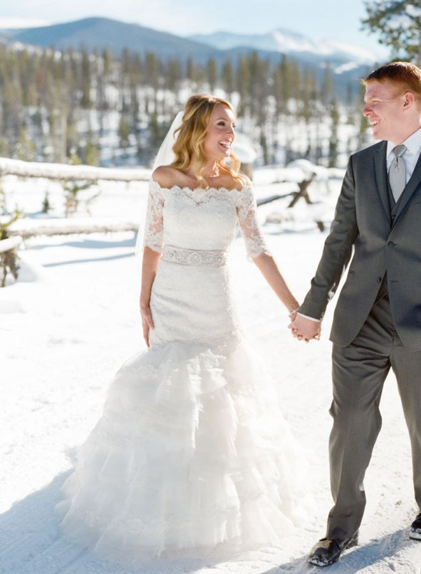 o 5mA IVcAs - Зимняя свадьба Адама и Эмили