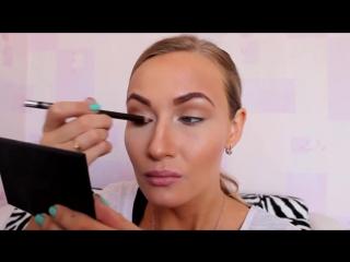 Макияж в стиле нюд, натуральный макияж, макияж Rosie Hantington Whiteley