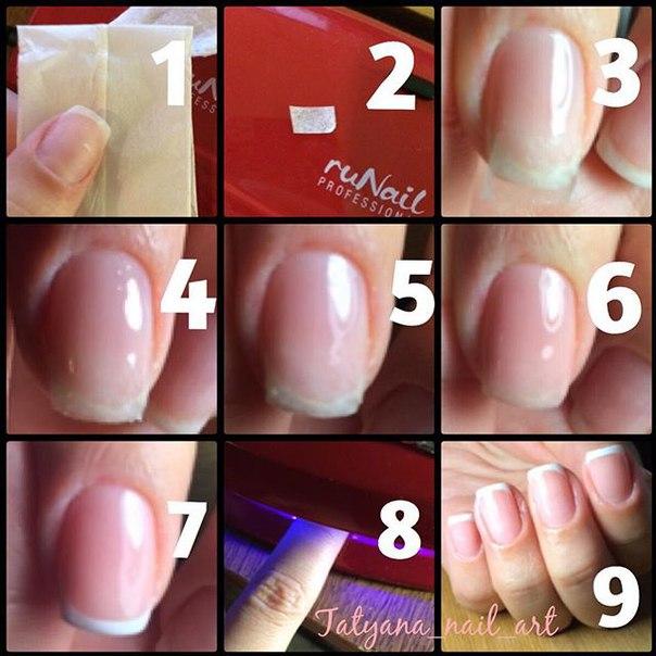 Как нарастить ногти с помощью акриловой пудры