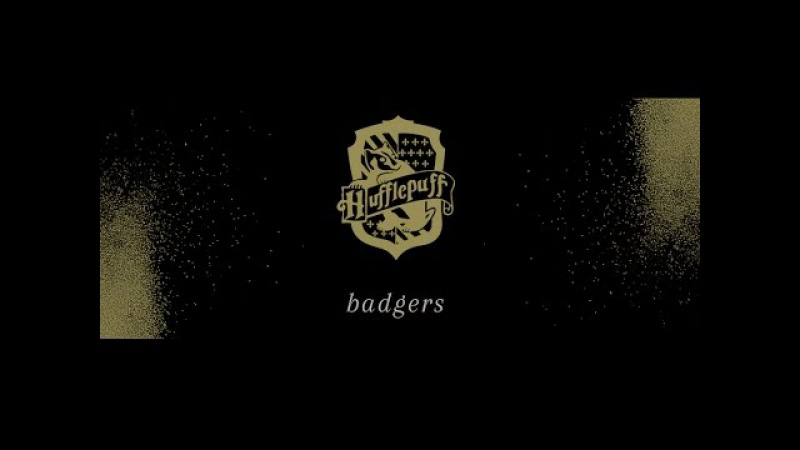 Badgers; {hufflepuff house}
